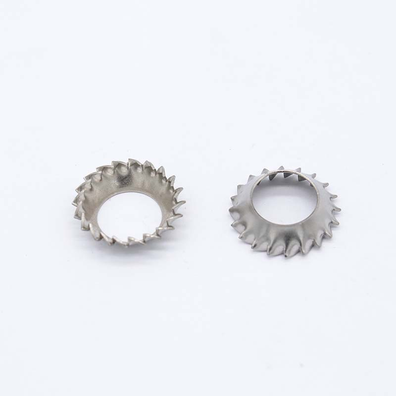 S4 tapered external serrated washer DIN6798V1